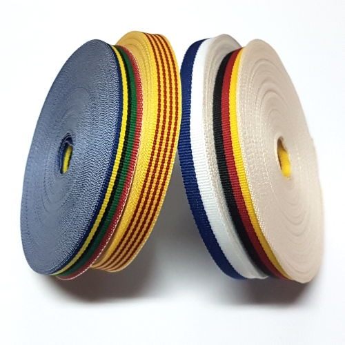 ribbons in rolls